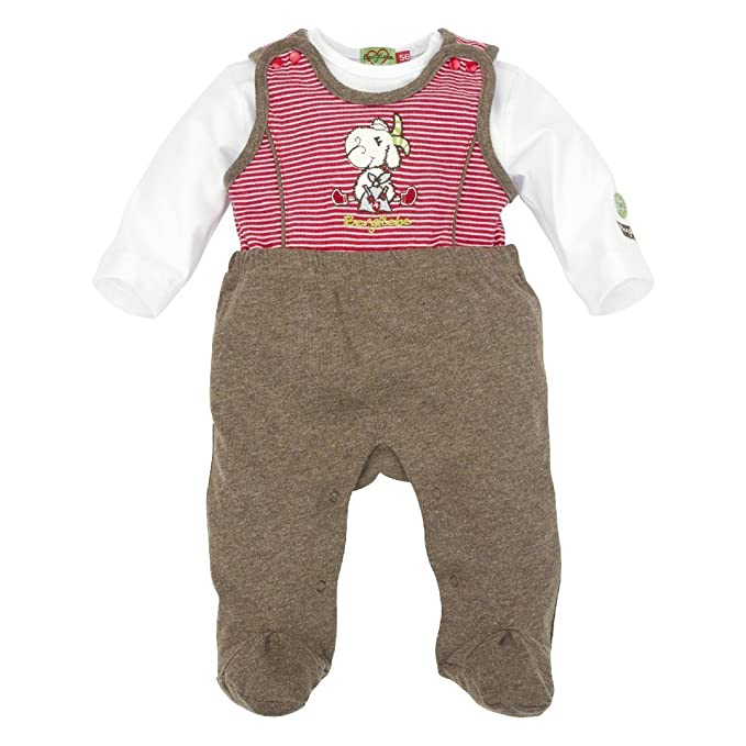 BONDI - Pelele - para bebé niño rojo/blanco 56 cm: Amazon.es: Ropa y accesorios