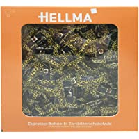 Hellma Espresso Beans in Dark Chocolate, Coffee Bean in Chocolate, Individually Packed Approx. 380 Pieces