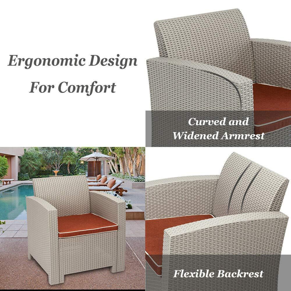 Amazon.com: AK Energy - Juego de sofá (3 piezas, PP, patio ...