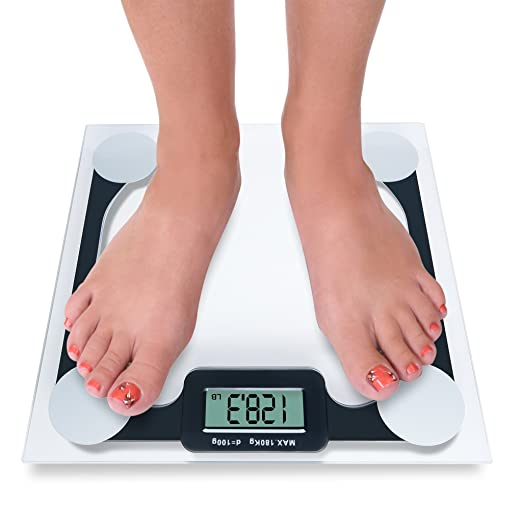 9cb95de1f9c Amazon.com  weighing scale - Modern digital scale High quality bathroom  scales 400 lb. Capacity weight scale has the Step-On Technology  Health    Personal ...