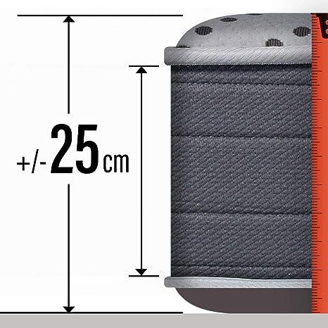 PIKOLIN Colchón viscoelástico HR 150x190 firmeza Alta, Reversible, máxima Calidad, Alto 25 cm - Colchones Iliria