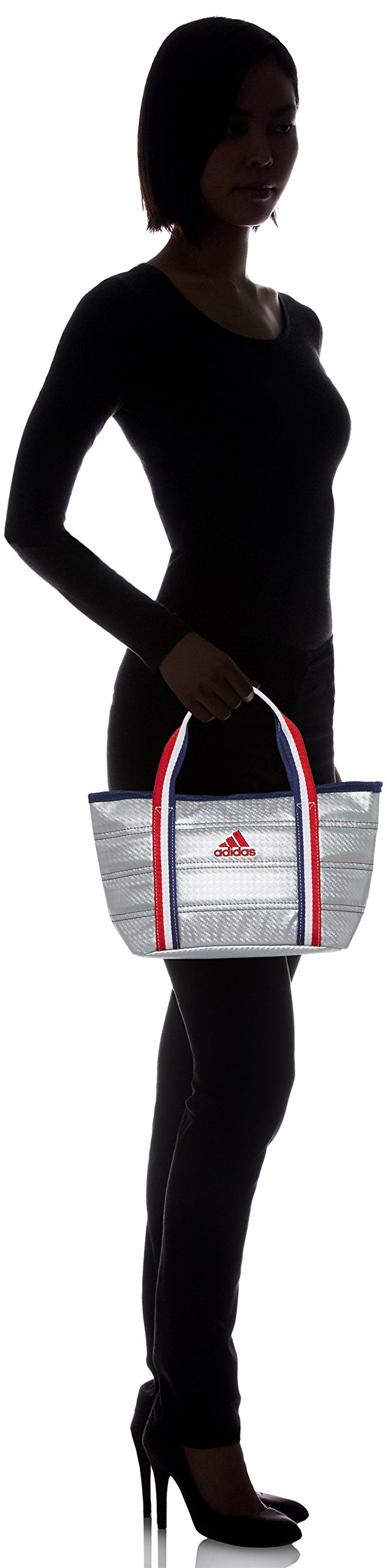 [Adidas Golf] Round Tote Bag L23 × W18 × H13 cm AWT 28 A 42076 Silver by adidas (Image #6)