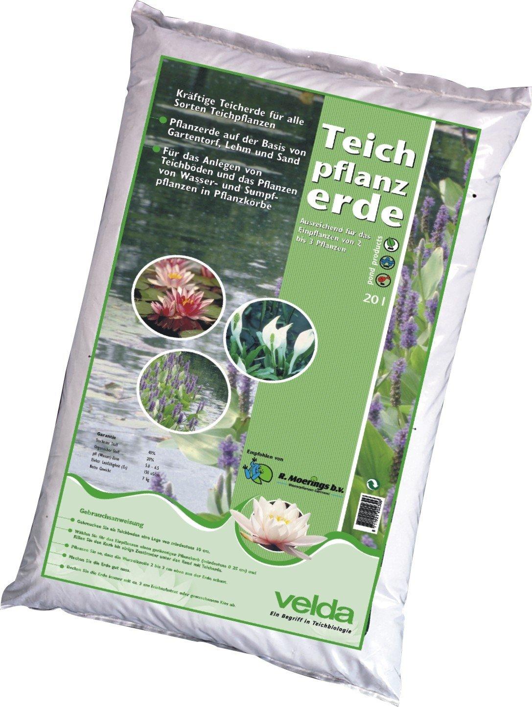 Aquatic Compost, Moerings Pond Plant Soil, 20 litres. Velda