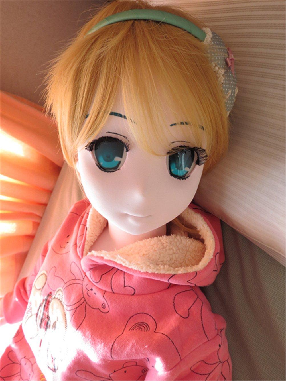 NFDOLL 5'2'' (160cm) Full Body Love Handmade Fabric Anime Doll Solid Silicone Breast Toys by NFDOLL