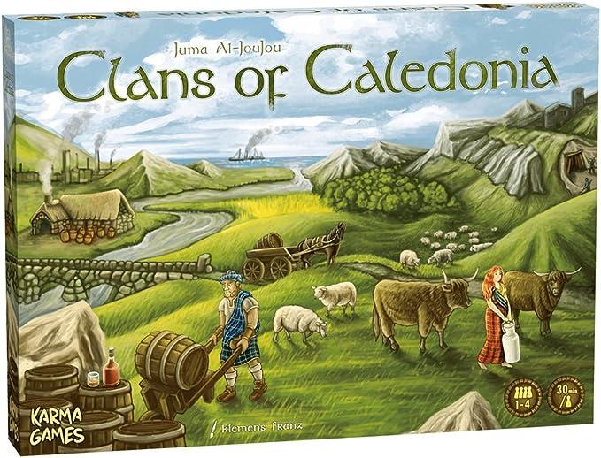 Karma Games KAR38205 Clans of Caledonia - Juego de Mesa (Contenido ...
