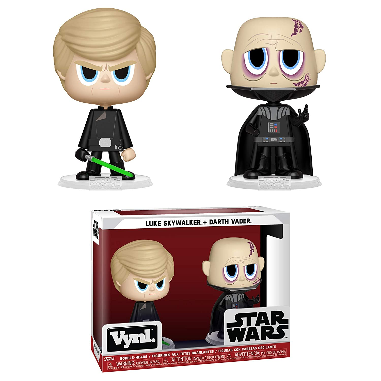 Darth Vader /& Luke Skywalker 2 Pack Funko Vynl Star Wars