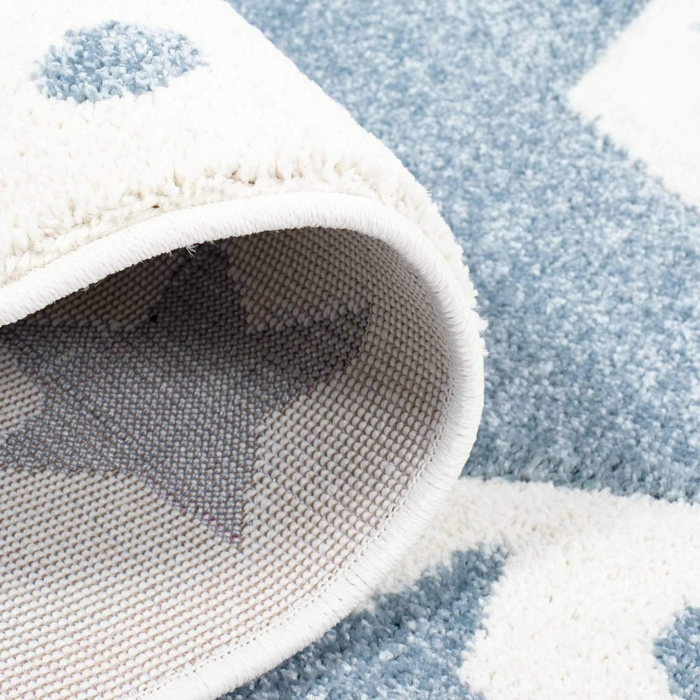 Taracarpet Kinderzimmer und Jugendzimmer Teppich Dreamland Kinderzimmerteppich Sterne grau grau grau Creme 120x120 cm rund B07N7TYC13 Teppiche 8d298a