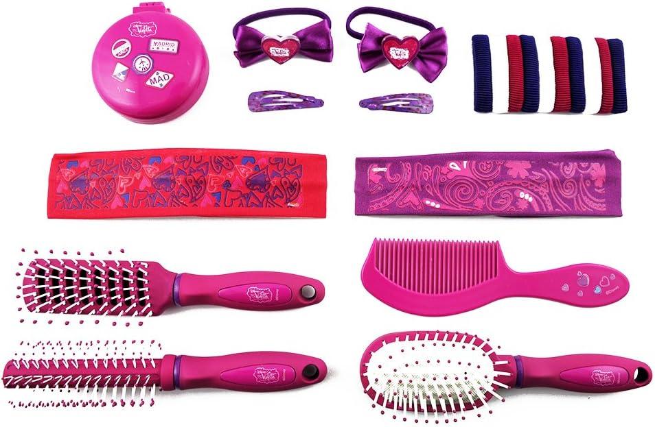 Disney DV2994 - Estuche regalo de belleza, diseño Violetta, 21 piezas: Amazon.es: Belleza