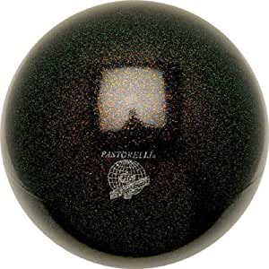 Pastorelli~GLITTER HV - Pelota de gimnasia rítmica (18 cm), Negro ...