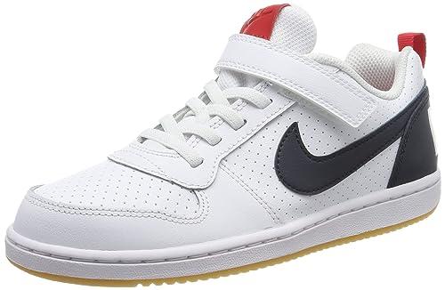 save off on feet at exquisite design Nike Court Borough Low (PSV), Chaussures de Basketball garçon