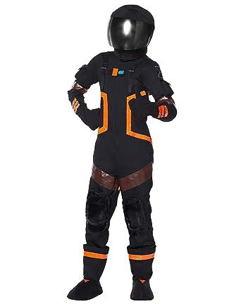 amazon com spirit halloween kids fortnite dark voyager costume clothing - fortnite spaceman