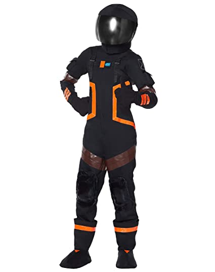 spirit halloween kids fortnite dark voyager costume xl
