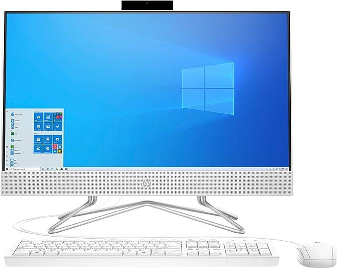 """2020 Newest HP 23.8"""" FHD Non-Touch All-in-One Desktop Computer, AMD Athlon Silver 3050U Processor 2.3 GHz, 16 GB RAM, 256 GB PCIe SSD, DVD, Webcam, WiFi, Bluetooth, Windows 10 Home + Oydisen Cloth   Amazon"""