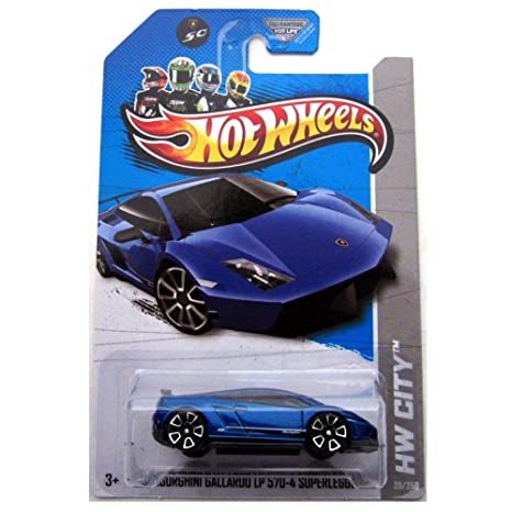 Amazon Com 2013 Hot Wheels Hw City Lamborghini Gallardo Lp 570 4