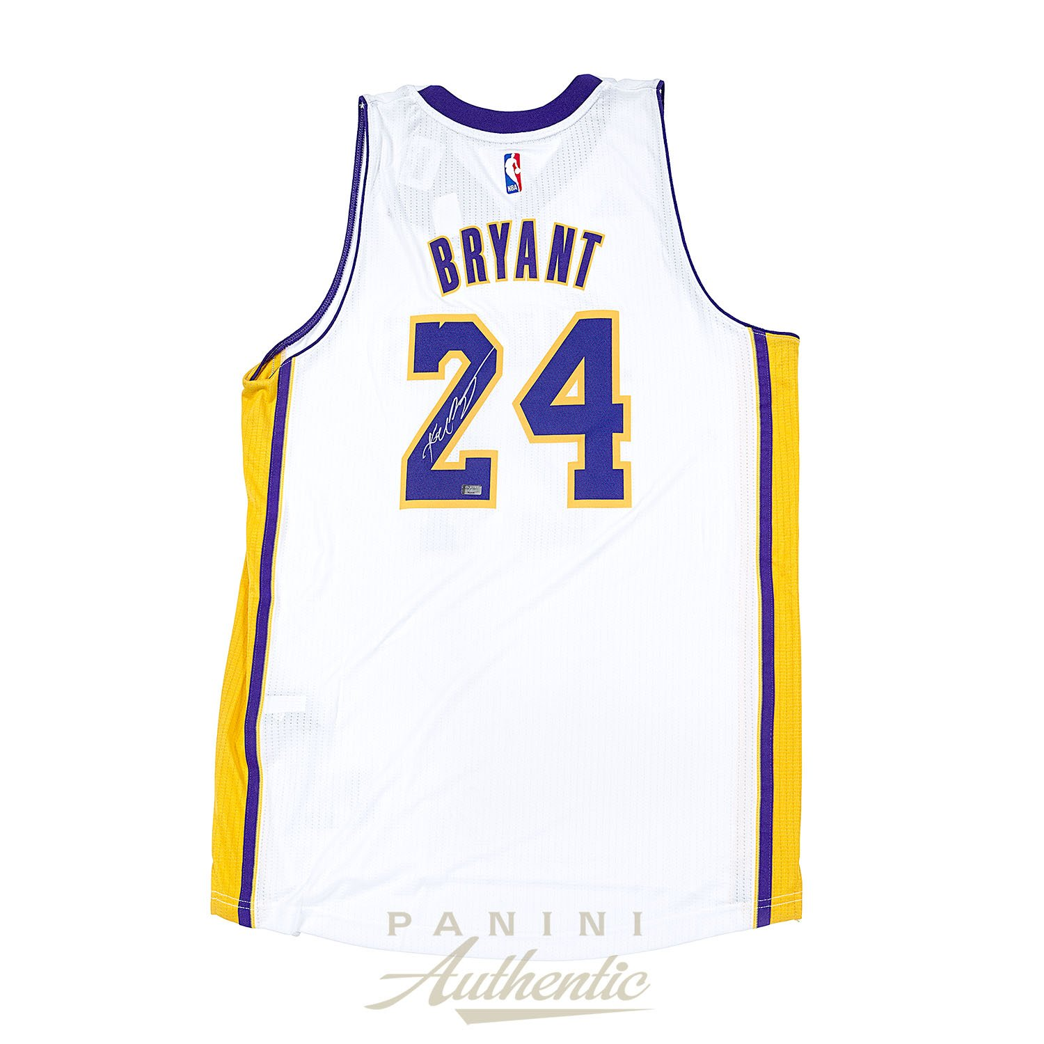 1746d9b79c6 Kobe Bryant Autographed Adidas White Swingman Jersey ~Open Edition Item~ at  Amazon s Sports Collectibles Store