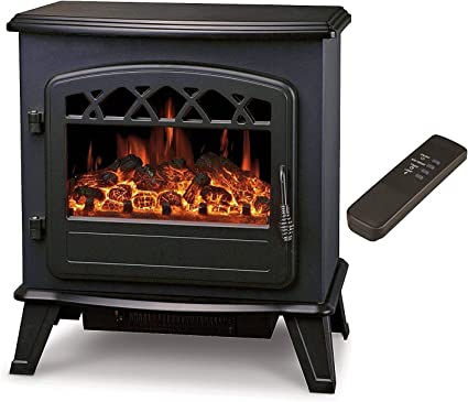 Galleon Fires Electric Log Fireplace - Easy To Relocate