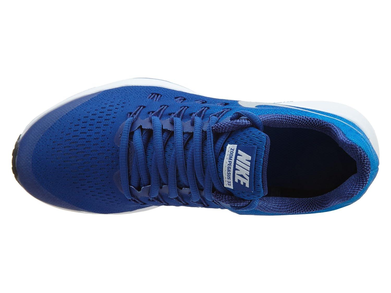 online retailer bb848 c5b3c Amazon.com   Nike Boys  Zoom Pegasus 33 (Little), Game Royal Photo Blue Deep  Royal Blue Metallic Silver, 7 Big Kid M   Running