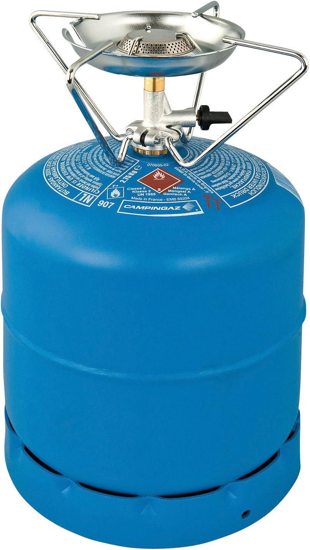 Camping Gaz 1 Feu R - Hornillo portátil para Acampada, Color Azul