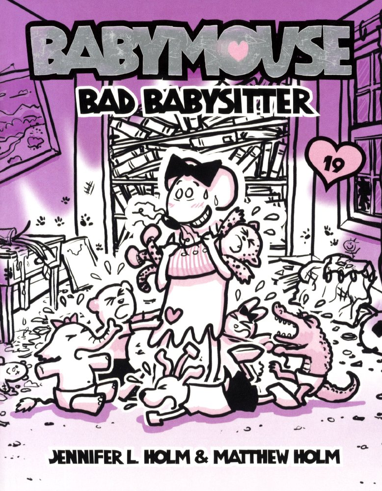 Download Bad Babysitter (Turtleback School & Library Binding Edition) (Babymouse) PDF
