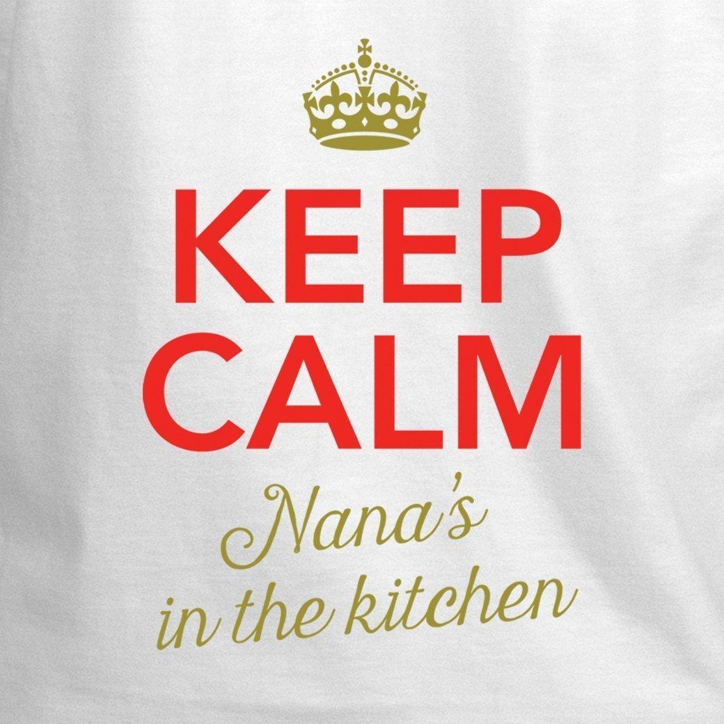 Amazon.com: Nana Apron, Nana Cooking Gift, Keep Calm, Nana\'s In ...