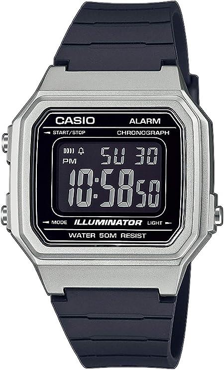 Casio Reloj Digital para Hombre de Cuarzo con Correa en Resina W-217HM-7BVEF: Amazon.es: Relojes