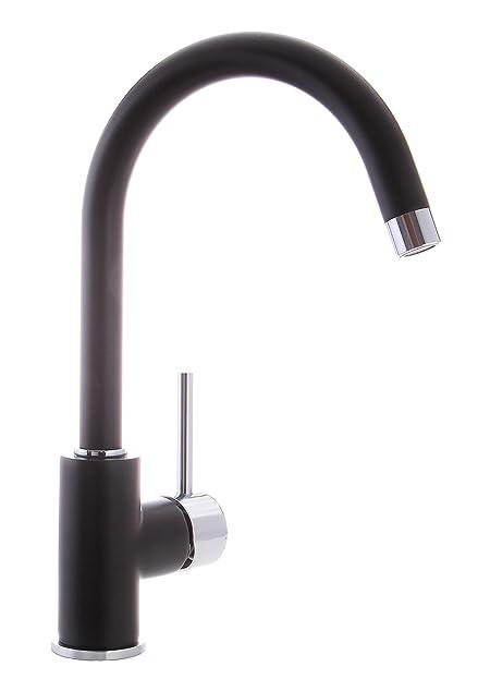 grünblatt schwarz küchenarmatur einhebelmischer wasserhahn küche