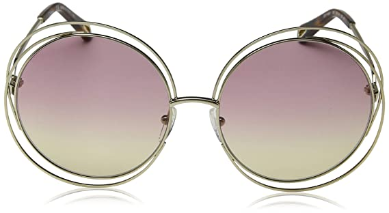 c3bed04621bc Sunglasses CHLOE CE 114 SD 702 GOLD HAVANA GRAD ROSE HONEY LE at Amazon  Men s Clothing store