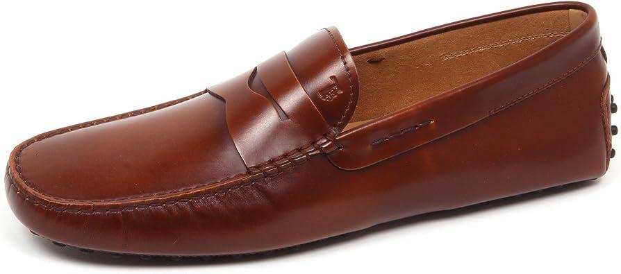 E3648 mocassino uomo brown TOD/'S scarpe shoe loafer man
