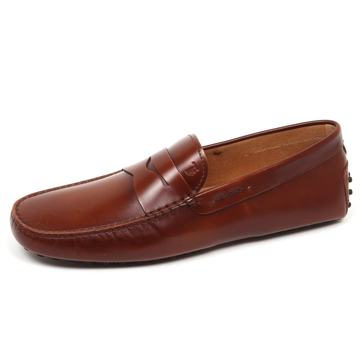 E3648 Mocassino uomo Brown Tod's Scarpe Shoe Loafer Man Marrone