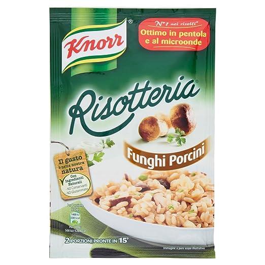 15 opinioni per Knorr- Risotteria, Funghi Porcini- 15 pezzi da 175 g [2625 g]