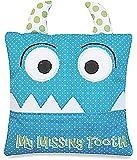 Little Boy's Blue Tooth Fairy Pillow by Almas Designs