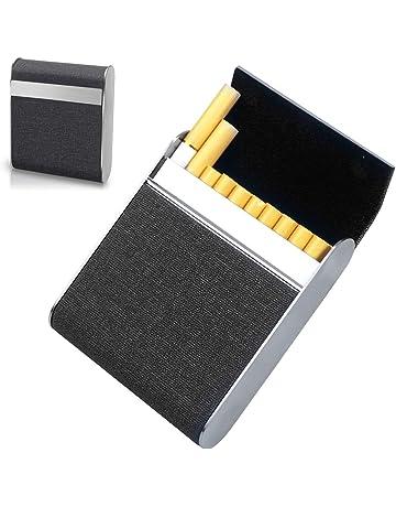 5x 20er Zigarettenetui Zigarettencase Zigaretten ZigarettenBox Etui Leder Optik