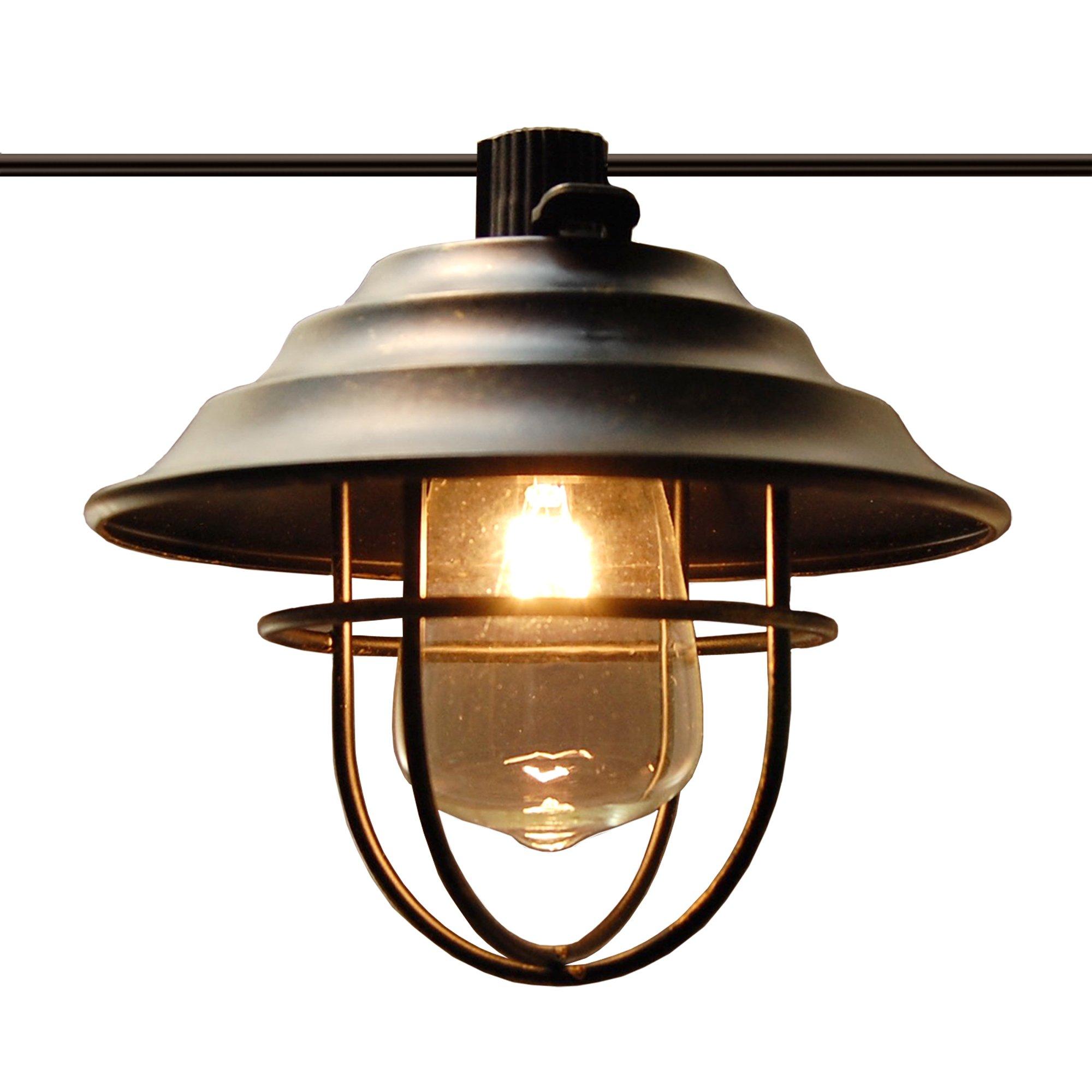 Electric Bronze Metal Café String Lights (10 Lights)
