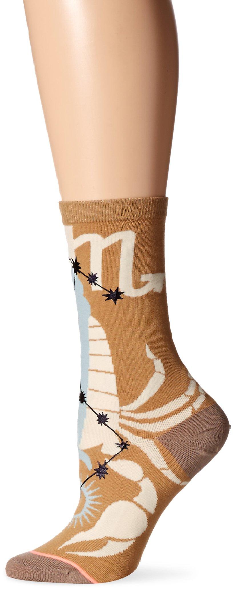 Stance Women's Zodiac Crew Sock, Scorpio, Medium