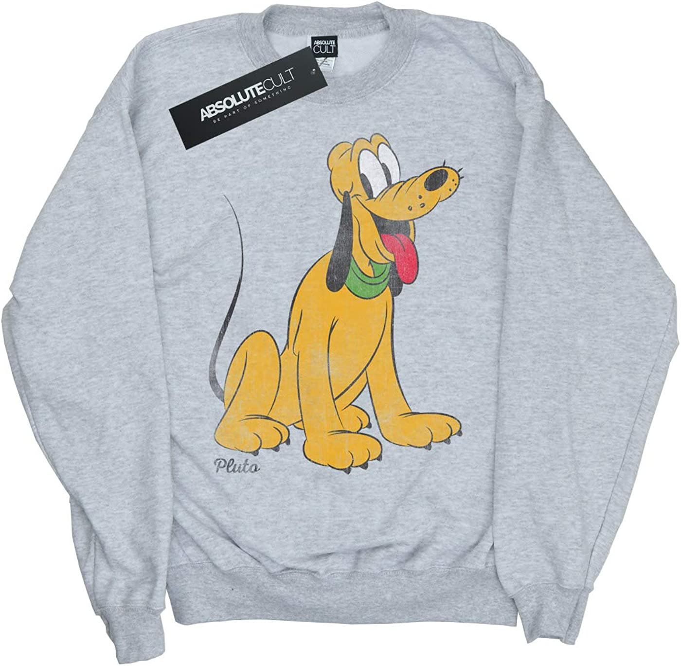 Disney Girls Mickey Mouse Classic Pluto Sweatshirt