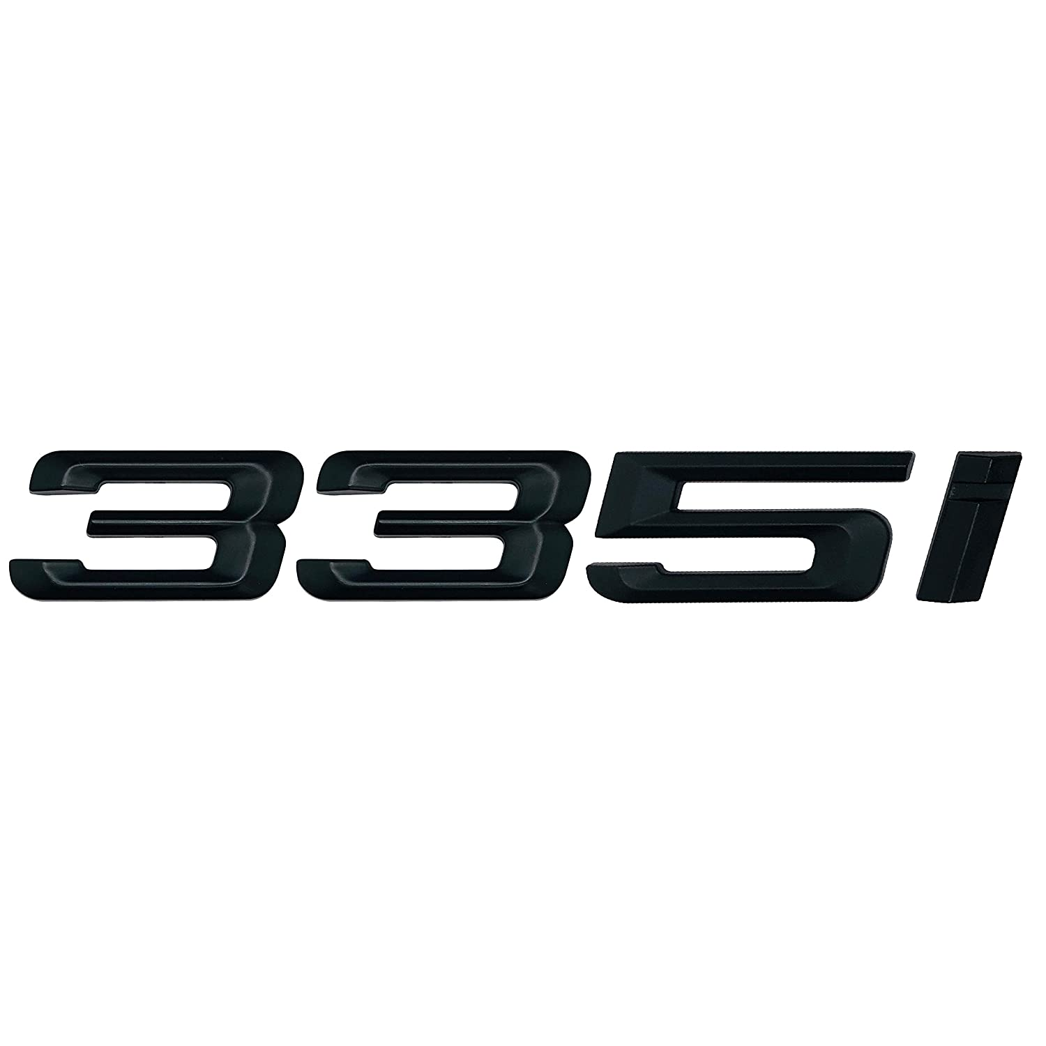 E93 F30 E46 E90 Negro Mate 335i Lettering Trasero Boot Lid Trunk Badge Emblema For 3 Series E36 F31 E92 G20 Models F34 E91