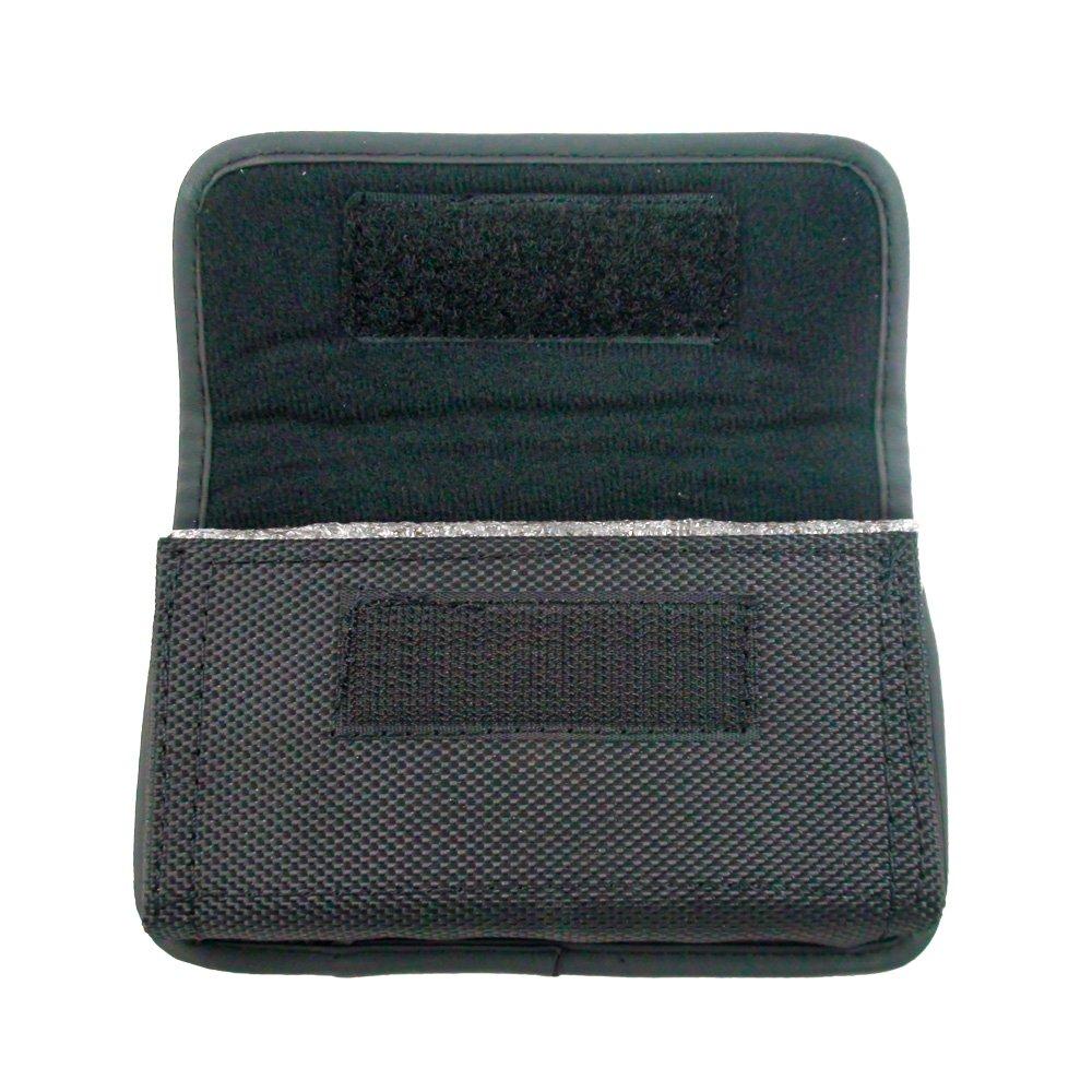 Heavy Duty Horizontal Rugged Canvas Nylon Case Holster with Belt Loop, Belt Clip & Velcro Closure For Straight Talk ZTE Unico Z930L LTE / Solar