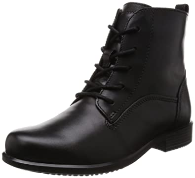 Amazon.com | Ecco Footwear Womens Touch 25 Lace Boot | Ankle & Bootie