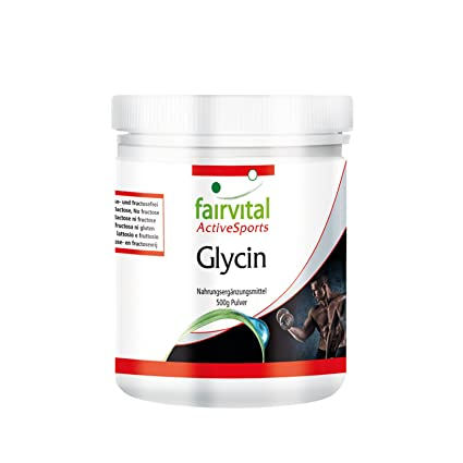 Glicina en polvo - GRANEL durante 5 meses - VEGANO - 500 g - polvo de