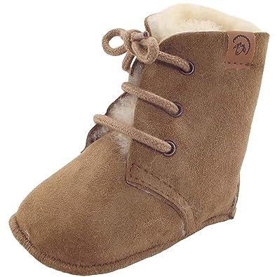 4b42af2c65ec2c Fellhof Maxi 632 Baby Lammfell-Stieferl  Amazon.de  Schuhe   Handtaschen