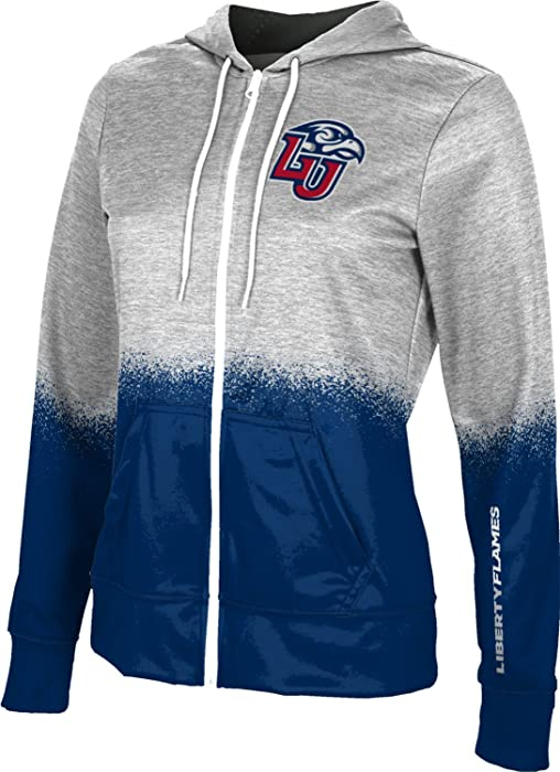 cf2a9bf7 ProSphere Liberty University Women's Full Zip Hoodie - Spray Over FEBB  (X-Small) at Amazon Women's Clothing store: