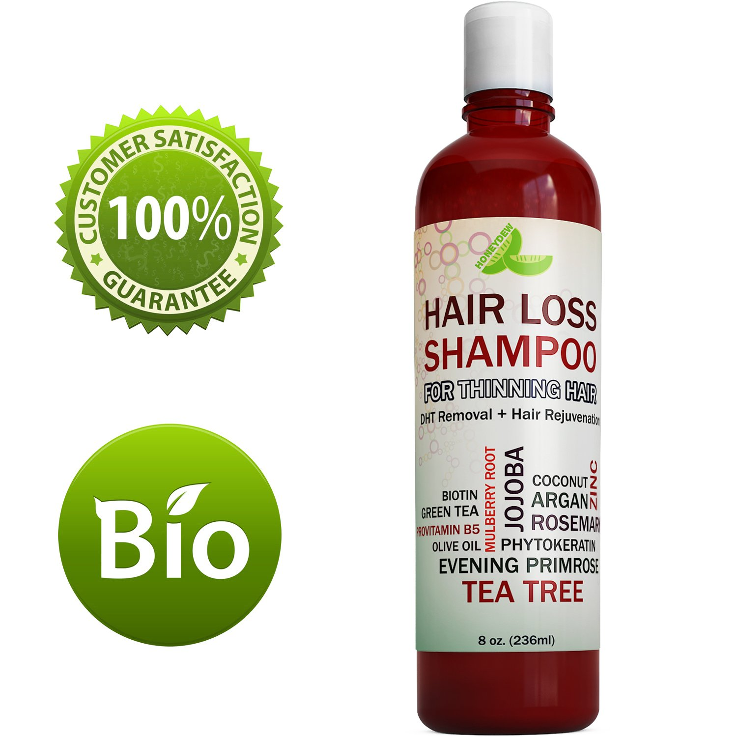 Best Hair Loss Shampoo Potent Hair Loss Fighting Formula 100% Natural  Topical Regrowth Treatment Restores