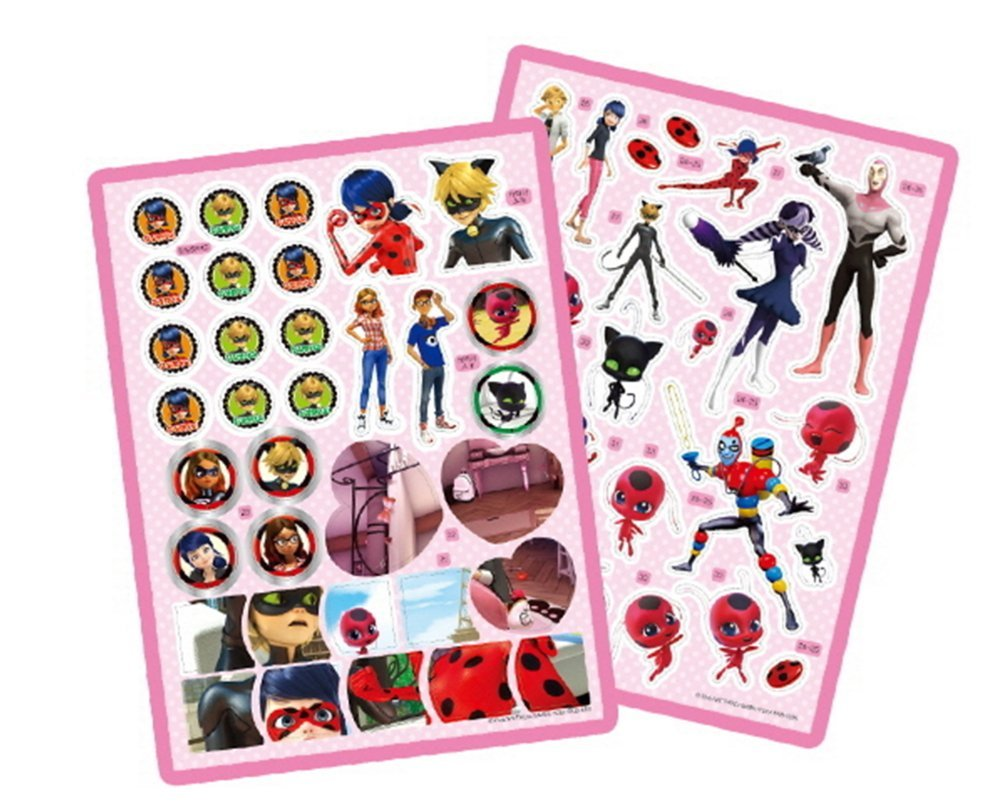 Miraculous Ladybug Sticker Coloring Book Activity Play Kids Toy ...