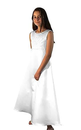 Eisend Kommunionskleid, Kommunionkleid in 78 Länge, Kleid mit Bolero, Kids, Schlichtes Kleid