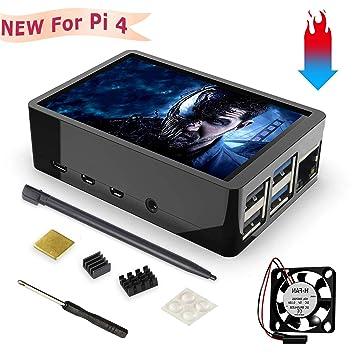 Amazon.com: Pantalla táctil para Raspberry Pi 4 con ...