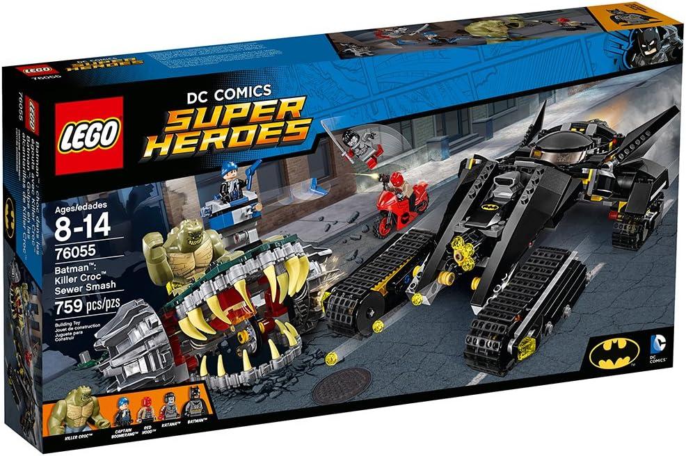 Killer Croc LEGO DC Comics Batman Super Heroes Minifigure 76055