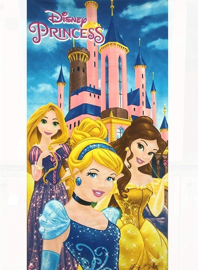 Disney Princess entremêlé Raiponce Serviette de plage 100/% coton