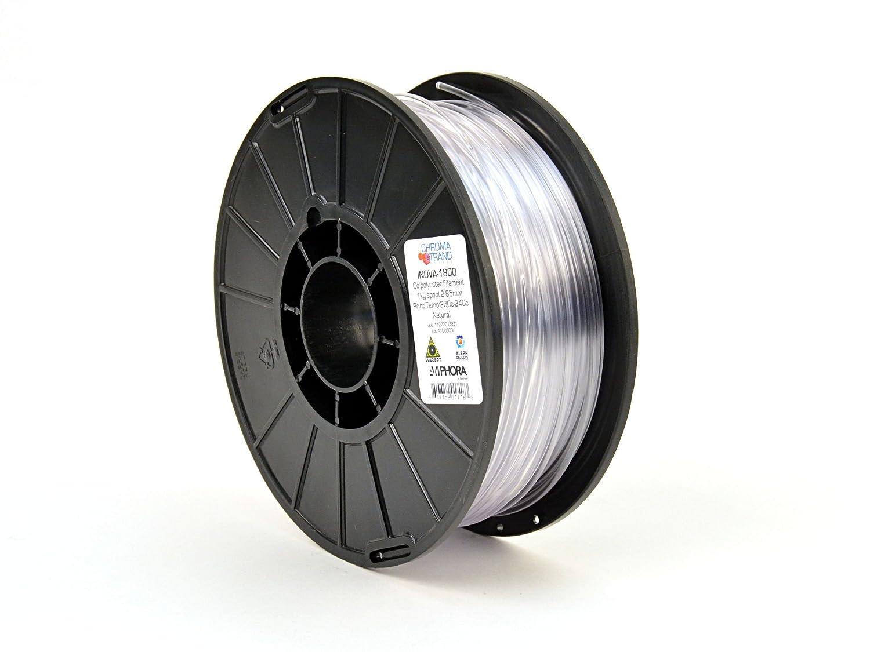 1 kg Reel 2.85 mm LulzBot Chroma Strand INOVA-1800 Copolyester Filament Black