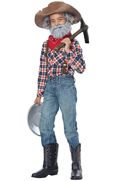 Amazon.com  California Costumes Prospector Kit - Child  Toys   Games a08da1b8ae9
