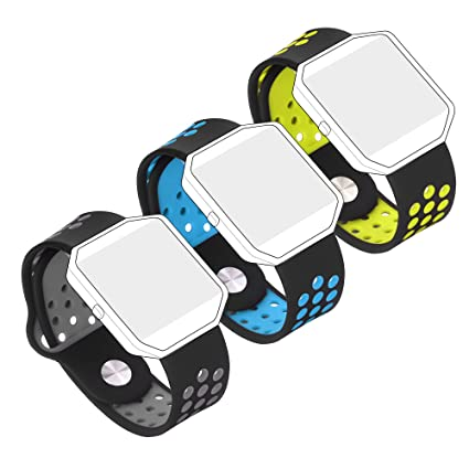 Bepack Fitbit: Correa de repuesto para pulsera de Fitness Fitbit Blaze Smartwatch, de gel suave de silicona, ajustable